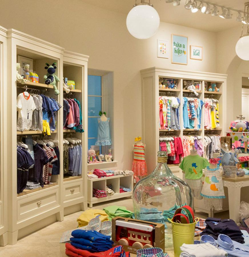 Kids Clothing Section