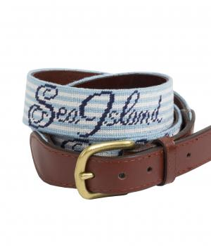 Sea Island Seersucker Belt.