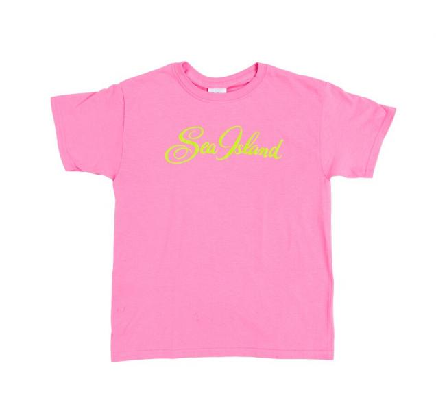 Extra Small Hot Pink Half Sleeved Sea Island T-shirt