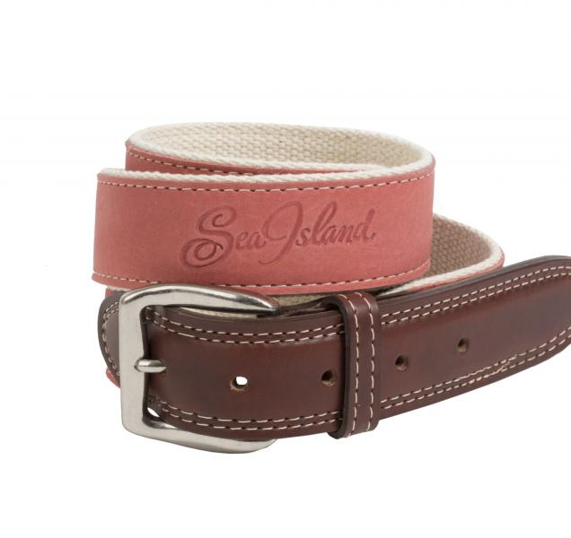 Sea Island Suede Belt.