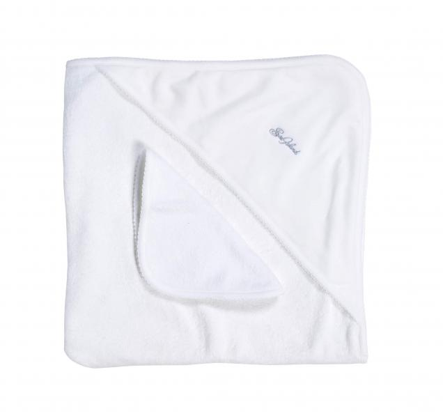 Sea Island Baby Towel with Hood.